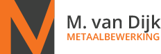 M. van Dijk metaalbewerking Logo